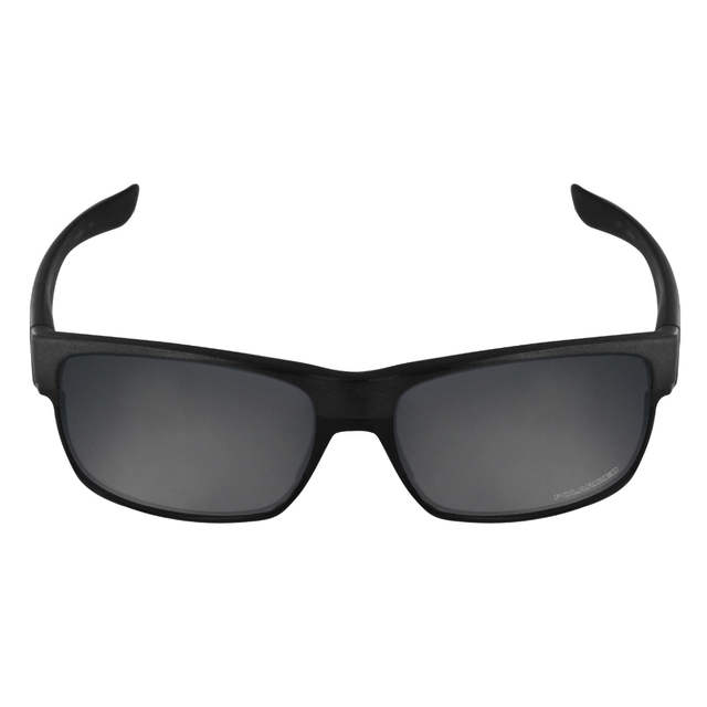 b511de1241 Mryok+ POLARIZED Resist SeaWater Replacement Lenses for Oakley TwoFace  Sunglasses Stealth Black