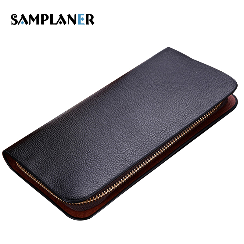 Samplaner Brand Men Long Wallets 2017 PU Leather Male Clutch Bag Large Capacity Black Wallet Card Holder Phone Pocket Purse Man fashion flamingo floral print women long wallet large capacity clutch purse phone bag pu leather ladies card holder wallets