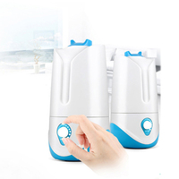 3 4L Air Humidifier Ultrasonic Essential Oil Diffuser Aroma Negative Ion Humidifier Electric Mist Maker For