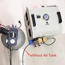 220 V MPA Hochdruck Luftpumpe mit Luftfilter Auto Stop Kompressor für Tauchen Atemschutzgerät 6,8/12L