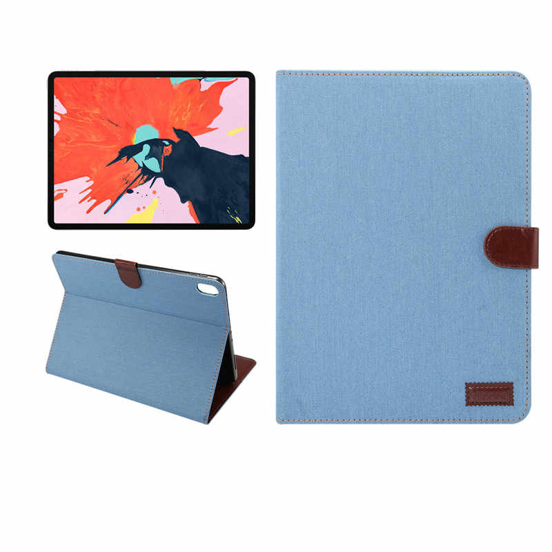 Case for New ipad pro 12.9 inch 2018 Tablet Stand PU Leather Magnet Smart Cover Auto Sleep/Wake for iPad Pro 2018 12.9 inch +pen