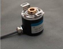 ZKP3808 500 PPR z TTL kompatybilny drążony wał 8mm fotoelektryczny enkoder obrotowy drut ABZ trójfazowy 5- 24 V