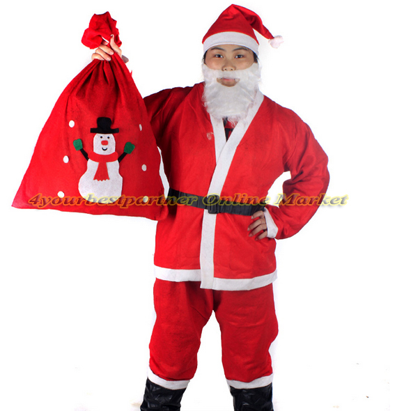 Hot Sale High Quality Santa Claus Costumes Classic Christmas Clothes Adult  Backpack Father Christmas Suit X'mas Clothing on Aliexpress.com | Alibaba  Group - Hot Sale High Quality Santa Claus Costumes Classic Christmas Clothes