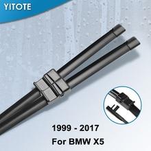 Щетки стеклоочистителя YITOTE для BMW X5 E53 E70 F15, подходят для крючков/боковых штифтов/нажимных кнопок, точное крепление от 1999 до