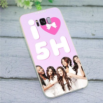 Silicone 5h Fifth Harmony Phone Cover for Galaxy Samsung S10 Case S7 M10 M20 M30 S6 Edge S8 S9 Plus S10e Note 8 9 Collision image