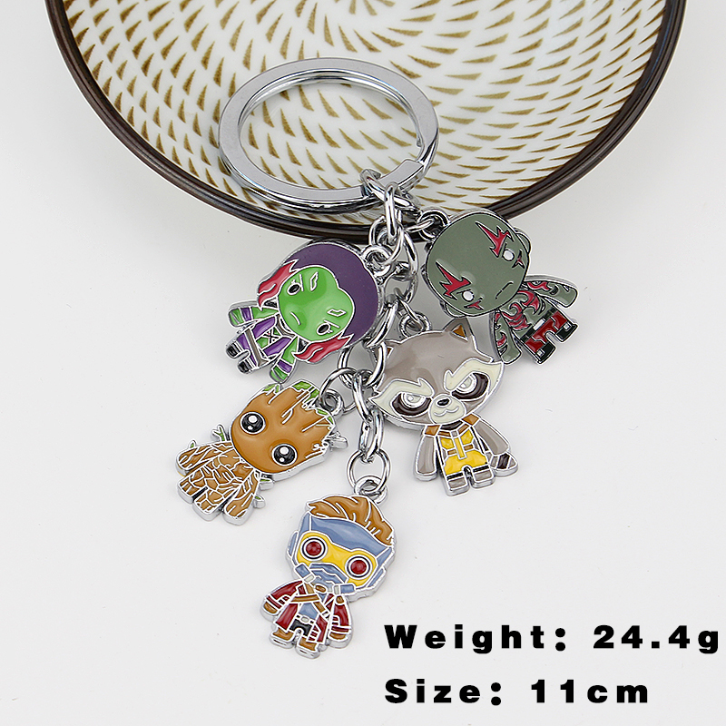 Guardians of the Galaxy character Keychain alien Keychain survivors of the alien holocaust