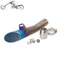 Universal Escape Motorcycle Motorcross Scooter Exhaust Pipe Muffler ATV Accessory For KTM Z750 R1 R3 R6 MT03 MT07