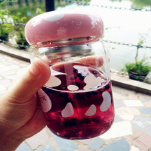 Новинка года креативная кружка в форме гриба для путешествий портативный фильтр для заварки чая кружка для путешествий с крышкой
