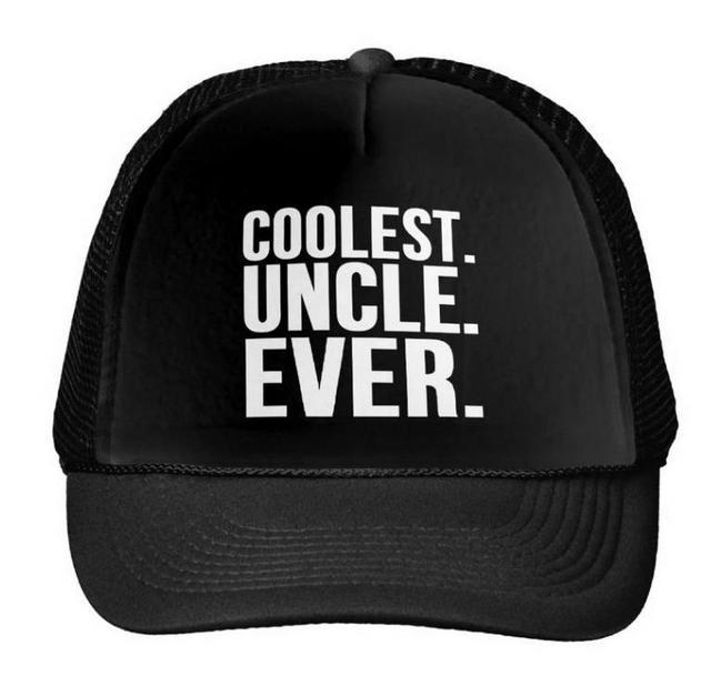 Coolest Hat Ever >> Coolest Uncle Ever Letters Print Baseball Cap Trucker Hat For Women