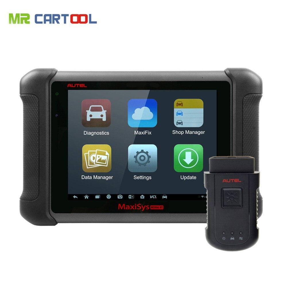 AUTEL MaxiSYS MS906BT Car Diagnostic Tool Autel MS906 BT Bluetooth ECU Coding Update Online Better than MaxiDas DS708