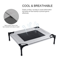Petacc Pet Bed Elevated Pets Beds Mesh Pad Dog House for Pets Breathable Superior Weight Capacity