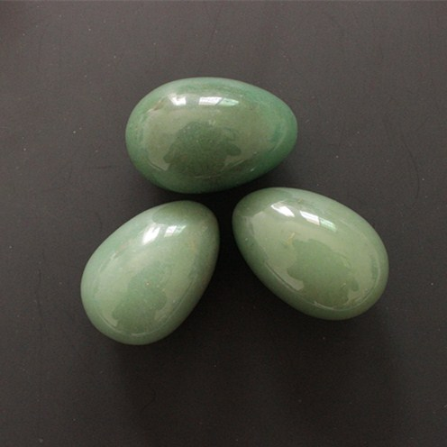 Undrilled 45x30mm Natural Green Aventurine Jade Eggs Natural Crystal Egg Healing Ball солнцезащитные очки ray ban rayban rb3025jm 001 002 146 32