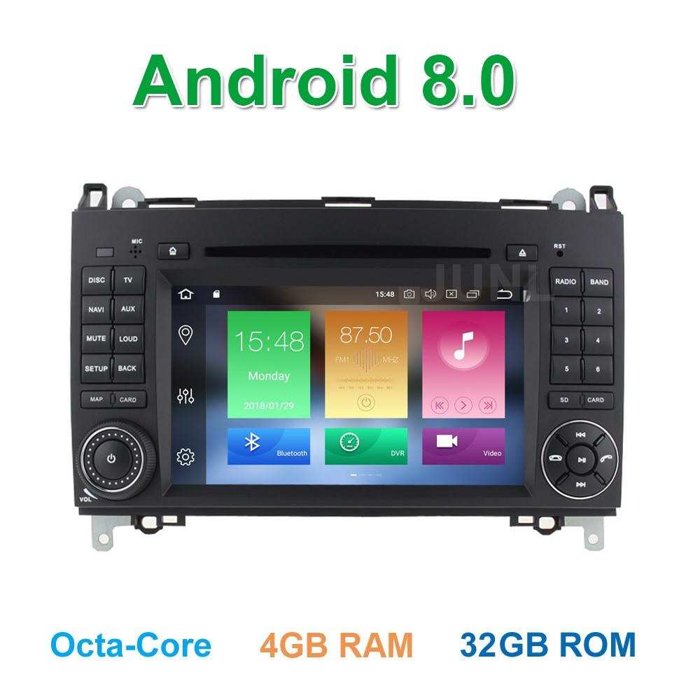 Octa base Android 8.0 Lecteur DVD de Voiture Radio GPS pour Mercedes/Benz Vito Viano Sprinter W209 W169 W169 B200 VW Crafter