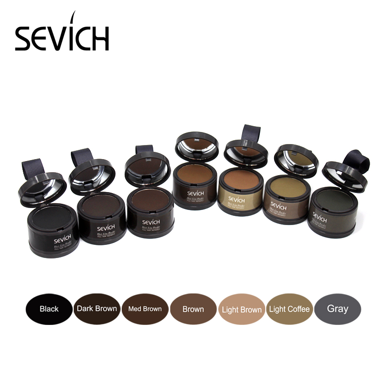 Water Proof hair line powder in hair color Edge control Hair Line Shadow Makeup Hair Concealer Root Cover Up Unisex Instantly 3