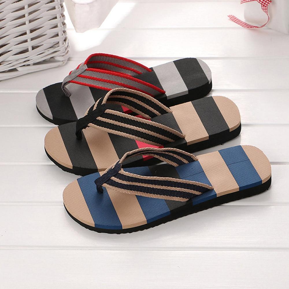 2019 Men's Shoes 1 Pcs Casual Mixed Colors Sandals Male Slipper Indoor Or Outdoor Flip Flops Shoes 40- 44 Size Dropship #0301