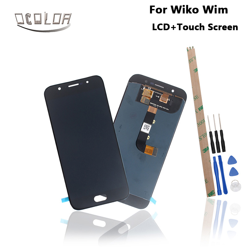 ocolor For Wiko Wim LCD Display and Touch Screen Tools And Adhesive High Quality For Wiko