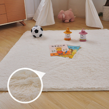 140 140cm Plush Children Kids Roomdoor Carpet Baby Play Top Climbing Game Mat Infant Baby Puzzle