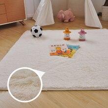 140*140cm Plush Children Kids Roomdoor Carpet Baby Play Top Climbing Game Mat Infant Baby Puzzle Floor Mat Carpet For Kids