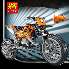 253PCS Technology Series Building Blocks Motorcycle DIY Model Assembling Brick Gift For Kids