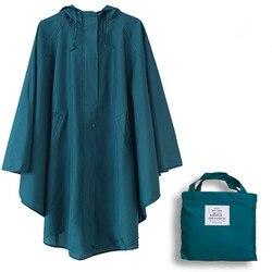 Dünne Mit Kapuze regenmantel frauen dots wasserdichte outdoor damen regen mantel poncho chubasquero mujer capa de chuva