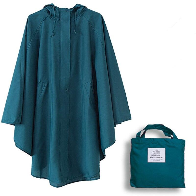 Fina capa de chuva Com Capuz mulheres dots chubasquero mujer à prova d' água senhoras ao ar livre capa de chuva poncho capa de chuva