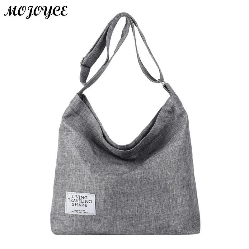Korean Canvas Shoulder Bags For Women Irregular Crossbody Handbags Female Casual Bag Ladies Messenger Handbag Bolsas Feminina