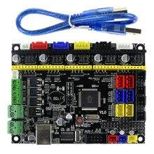 Denetleyici PCB kartı MKS Gen L V1.0 Entegre Anakart Uyumlu Ramps1.4/Mega2560 R3 Destek A4988/DRV8825/TMC2100/ LV8729