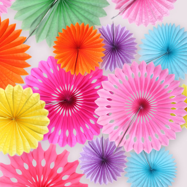 5pcs 20cm tissue paper cut out fans pinwheels hanging paper flower 5pcs 20cm tissue paper cut out fans pinwheels hanging paper flower for birthday wedding decoration mightylinksfo