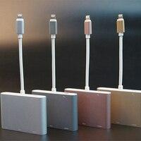 HDTV Adaptör Kablosu 8 Pin HDMI/VGA/AV Ses Video Adaptör Kablosu iphone 6 6 s 7 Artı iPad