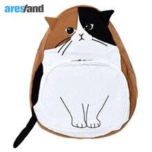 Aresland мультфильм аниме кошки рюкзак для девочек-подростков корейцы японский стиль сумка школы мешок пространство качество ноутбук