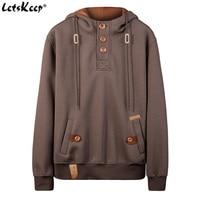 2018 New Letskeep Spring Pullover Hoodie Men Casual Slim Hooded Sweatshirts Mens Polo Hip Hop Hoodies