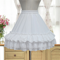 Princess sweet lolita Brocade Garden Chiffon Skirt ZJY042