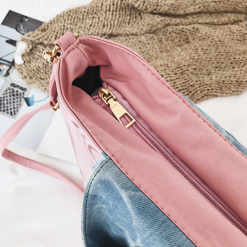 2019 Amarte New Women Tote Bag Large Capacity Fashion Personality Women Handbags Cartoon PU Leather Wild Shopping Shoulder Bags in Top Handle Bags from Luggage Bags