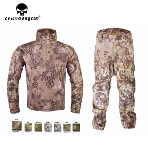 Image 4 - Emersongear HERREN Camouflage anzug Tactical Sportwear Militär Kampf Trainingsanzug Herbst & Winter Lange Ärmeln Herren Sport Anzüge