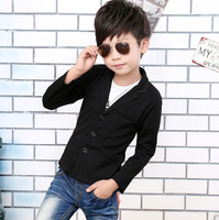 Formal Boy Clothing Autumn Baby Boy Outerwear Coat New 2016 Kids Jacket Clothes Children Longsleeves Party