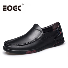 Size 36-46 Men shoes Genuine Leather casual men loafers Handmade Soft Moccasins Summer Autumn flats