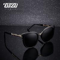 20 20 Brand Design Fashion Lady Polarized Sunglasses Women Retro Vintage Cat Eye Sun Glasses UV400