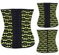 2015 NOVO batman Treino Cintura Cincher Underbust Corset Aço Desossado Corpo Shaper Shapewear Espartilho de borracha de látex XS-3XL Mulheres menina