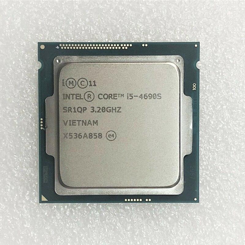 Intel Core i5 4690S i5 4690S 3 2GHz Quad Core 6M 65W LGA 1150 CPU Processor