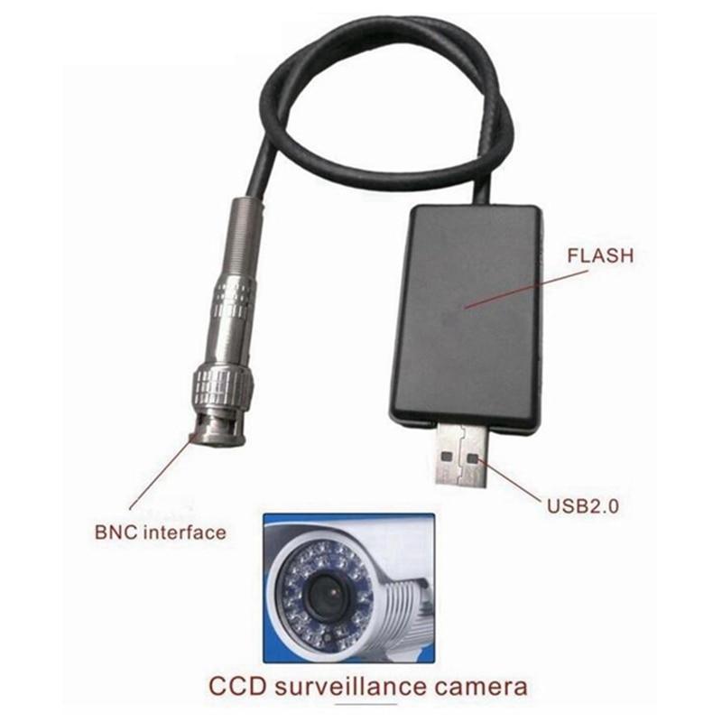 Supereyes 2M USB 2.0 Type BNC To USB Interface Surveillance Camera Analog To Digital Signal Cable Line микроскоп supereyes 500 x usb 5mp