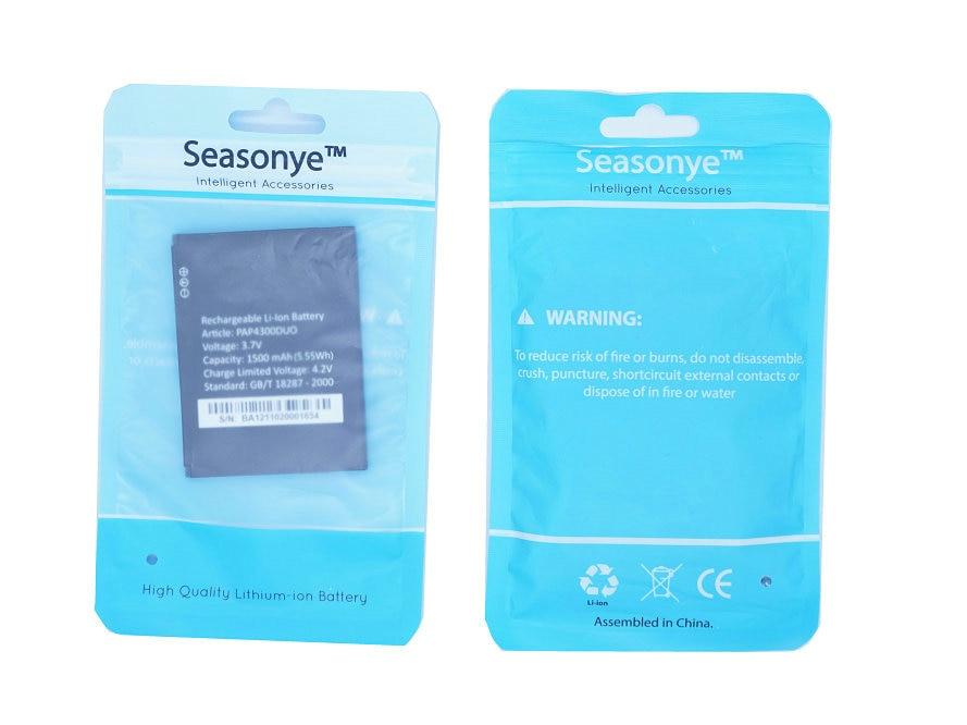 Seasonye 10pcs/lot 1500mAh / 5.55Wh Phone Replacement Battery For Prestigio PAP4300 DUO PAP4300DUO Batterie Bateria Batterij
