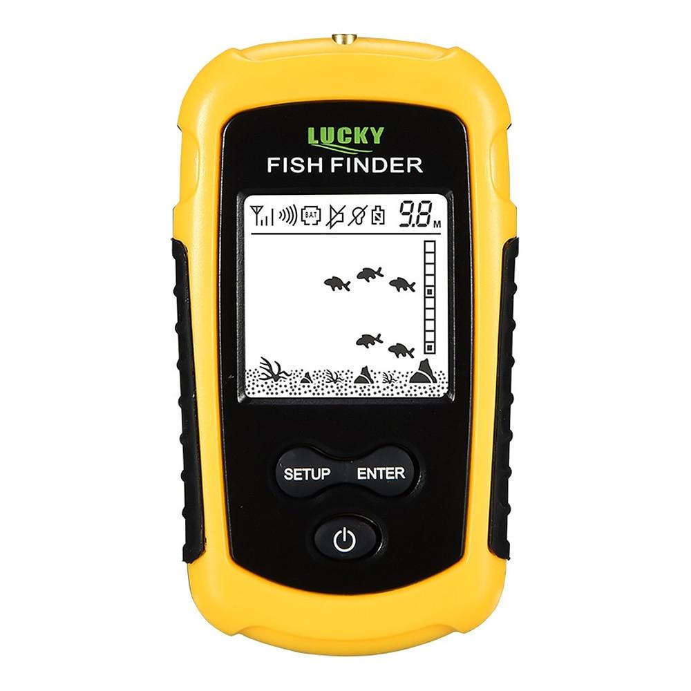 Localizador de peixes sem fio sonar sensor
