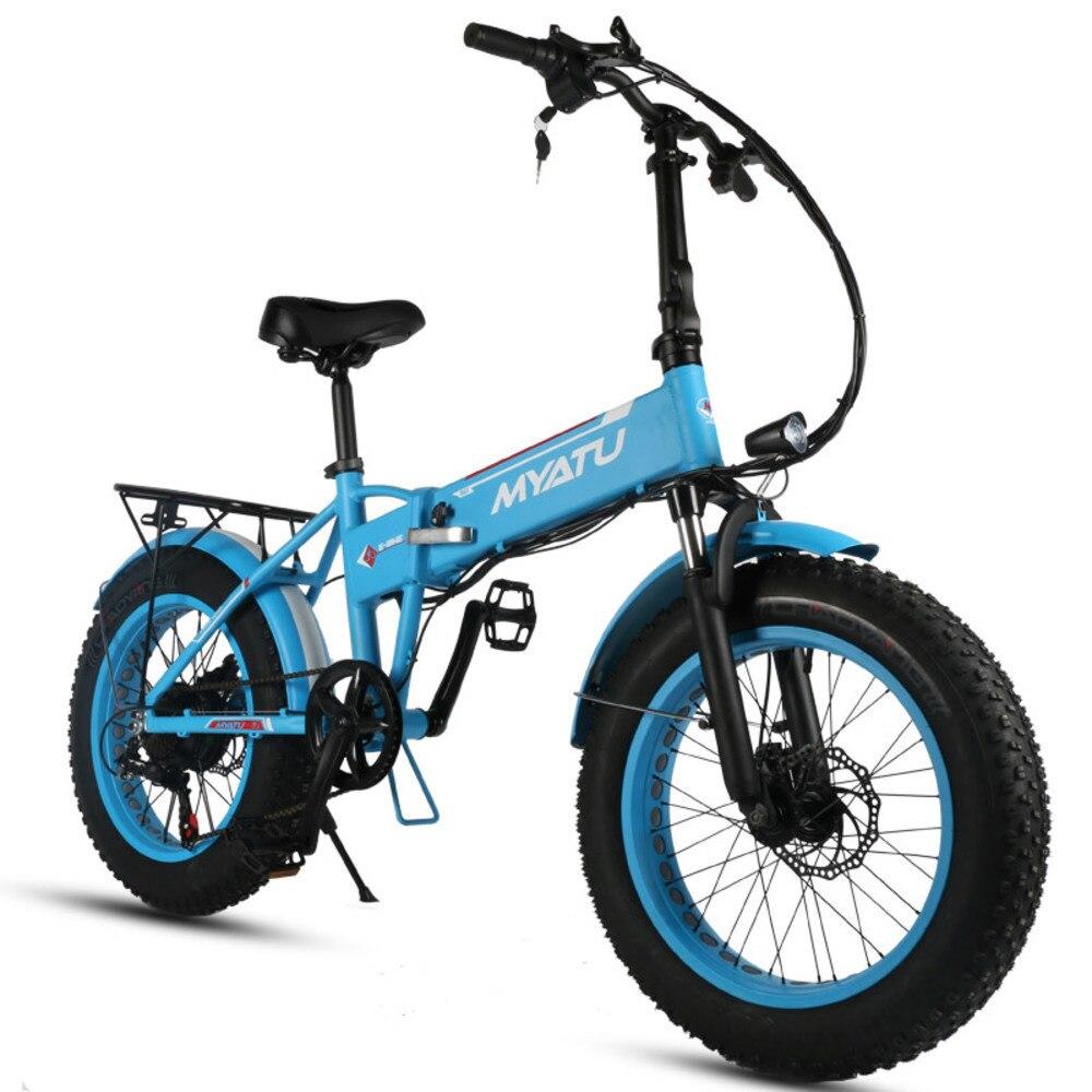 Vélo électrique pliant LOVELION 20 pouces de neige cadre caché Ebike la batterie au Lithium vélo électrique pneu 21 vitesses plage