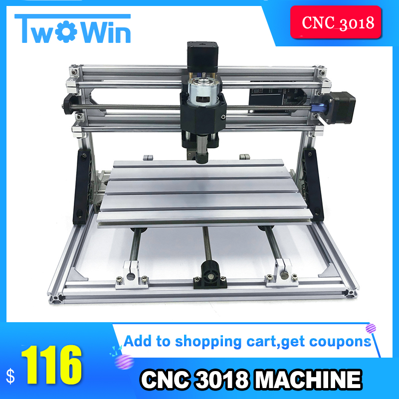 DIY CNC Router 3018 ER11 GRBL Control Diy CNC Machine 3 Axis PCB Milling Machine Wood Router Laser Engraving machine