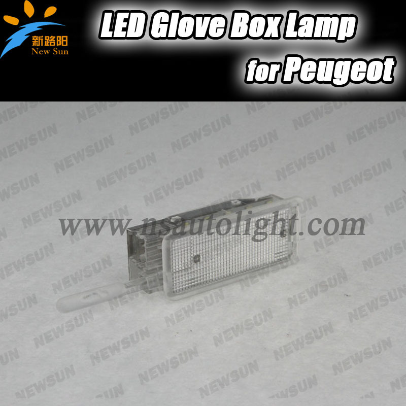 LED Glove box Light For Peugeot 206 207 306 406 307 406 407 607 806 308