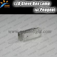 LED Плафон вещевого ящика Для Peugeot 206 207 306 406 307 406 407 607 806 308 3008 авто светодиодные лампы интерьера 12 В led вещевого ящика