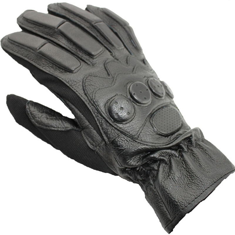 Mens Full Finger Long Genuine Leather Military Tactical Glove Moto Sport Sheepskin Cycling Fitness Gloves Special Forces G96
