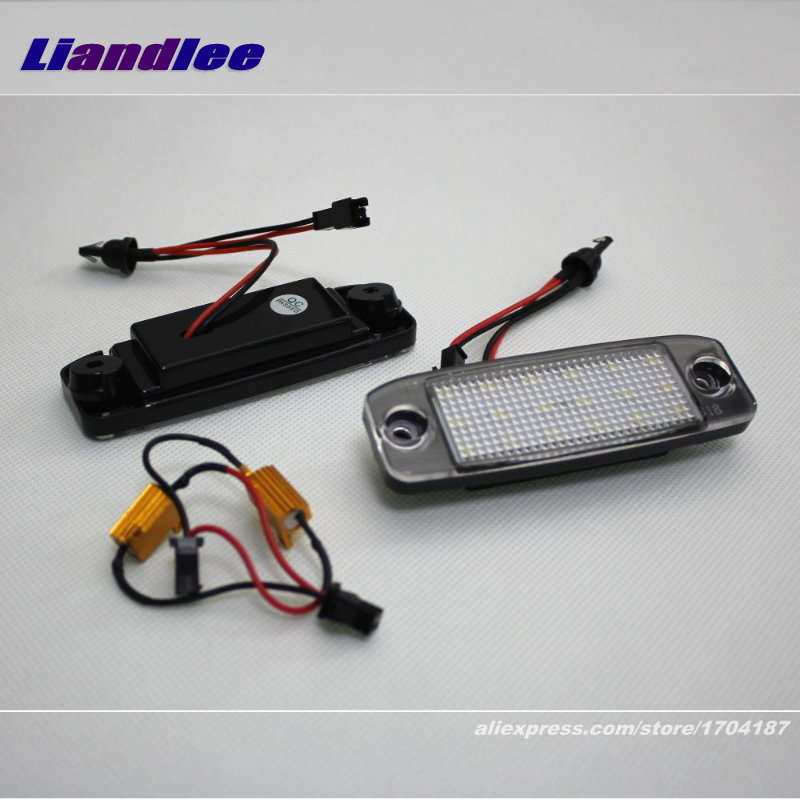 Liandlee For KIA Borrego / Mohave / Opirus / Amanti / LED Car License Plate Light / Number Frame Lamp / High Quality LED Lights kia mohave intro chr 1816 mw
