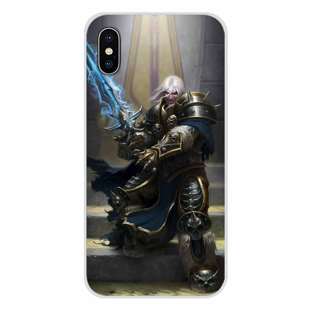 Lembut TPU Case World Of Warcraft Lich King Stormrage untuk OnePlus 3 T 5 T 6 T Nokia 2 3 5 6 8 9 230 3310 2.1 3.1 5.1 7 PLUS 2017 2018