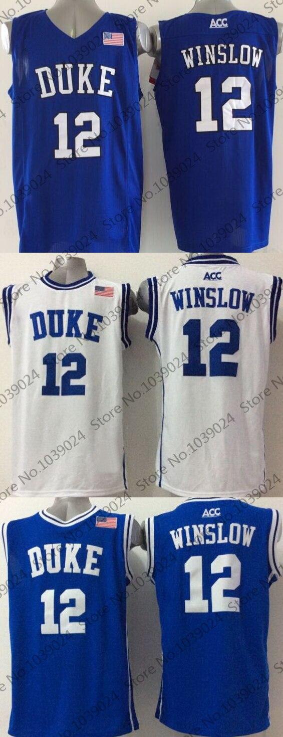 Grayson Allen College Justise Winslow Basketball Tyus Jones Duke Blue Devils  Jersey Jabari . 3ae3b8760